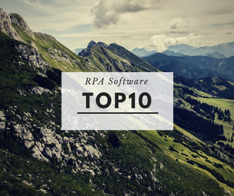 RPAソフトウェアベンダーグローバルTop10紹介