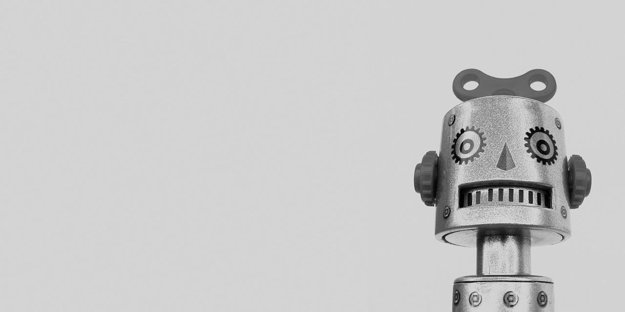 RPAのロボットを表す画像